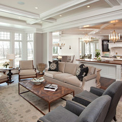 traditional living room by Eskuche Associates