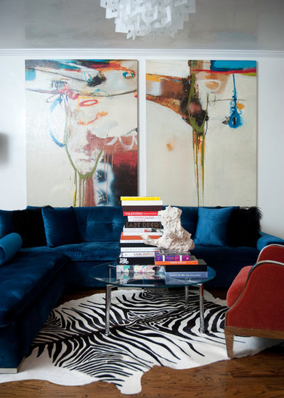 Contemporary Living Room by Smith  Boyd Interiors