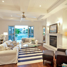 Traditional Living Room by Michelle Marsden Design