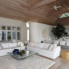 Contemporary Living Room by Susanne Kelley Design