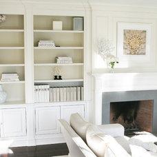 Contemporary Living Room by skatemoderne/michelle bergeron design ltd.