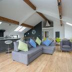 St Pancras Penthouse Apartment Contemporary Living
