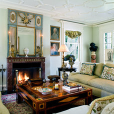 Traditional Living Room by Timothy Corrigan, Inc.