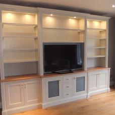 Contemporary Living Room by Glendalough Woodcraft