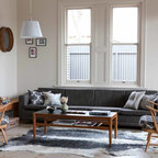 My Houzz: Connecting Work and Play in South Australia - Midcentury - Living Room - Adelaide - by ...