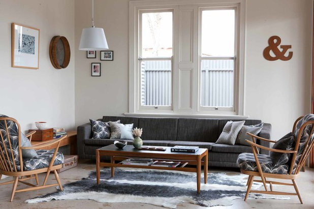 Midcentury Living Room by One Small Room - OSR Interiors & Building Design