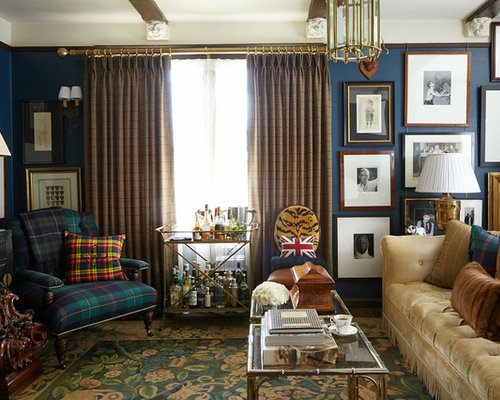 Ralph lauren style houzz for Ralph lauren living room designs