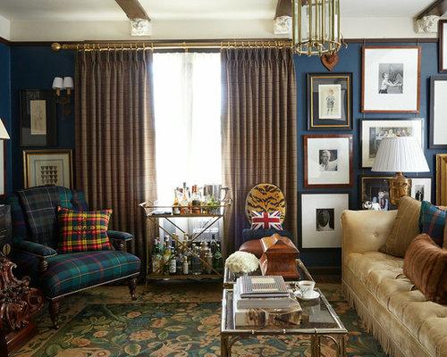 Tartan plaid living room designs tartan free printable for Tartan living room ideas
