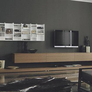 Hanging Bookcase TV Unit, Sangiacomo Italy