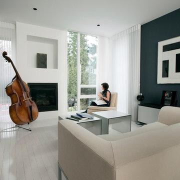 Hannon Richards Infill - Living Room