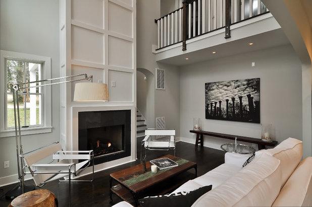 Contemporary Living Room by Dream Build Nashville