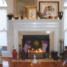 Eclectic Living Room by AHB General Contractors