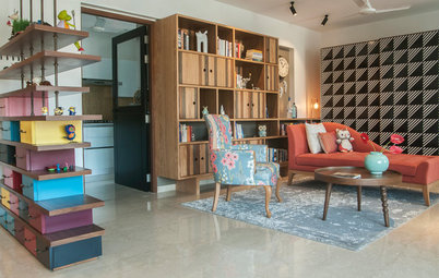 Mumbai Houzz: A Cheerful Home for One