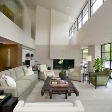 Contemporary Living Room by Rugo/ Raff Ltd. Architects