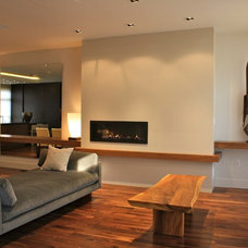 Contemporary Living Room by Michelle Miller Interiors