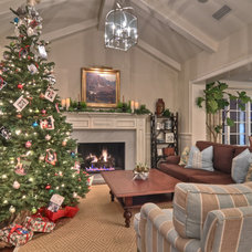 Traditional Living Room by Spinnaker Development