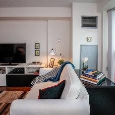 Contemporary Living Room by Toronto Designers