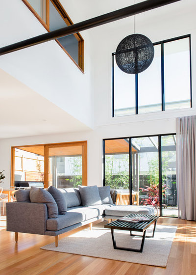 Contemporary Living Room by Elm Interiors