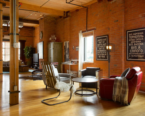 Exposed Brick Loft Houzz