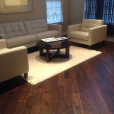 Contemporary Living Room by Taubs Flooring