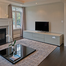 Contemporary Living Room by Peter A. Sellar - Architectural Photographer