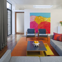 modern living room by Mabbott Seidel Architecture