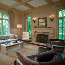 Traditional Living Room by Mitchell Channon Design