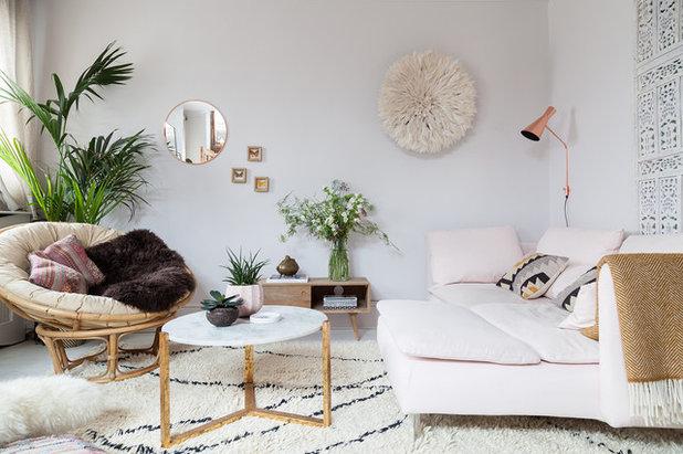 エクレクティック リビング by Emilie Fournet Interiors