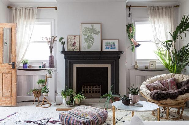 Eklektisch Wohnbereich by Emilie Fournet Interiors