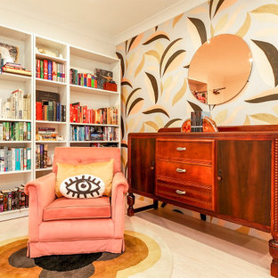 This is an example of an eclectic living room in Sydney.