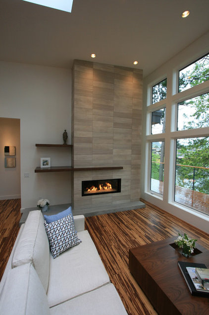 Contemporary Living Room by Christopher Developments