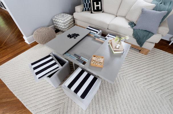 Craftsman Living Room by Brunelleschi Construction