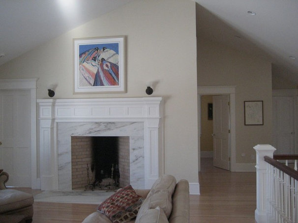Traditional Living Room by Sprague Woodworking