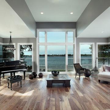 Hasserton - Transitional Prairie Style Lakefront