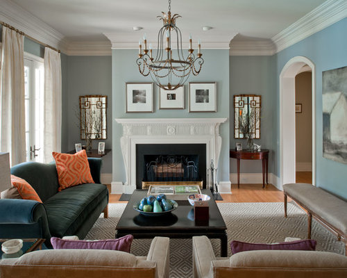 Benjamin Moore Winter Lake Houzz
