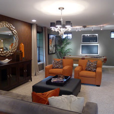 Contemporary Living Room by Carlyn And Company Interiors + Design