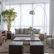 Modern Living Room by Westhill Furnishings AD