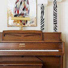 Eclectic Living Room by Un Fauteuil Pour Deux
