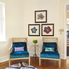 traditional living room by Mel McDaniel Design