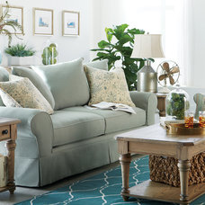 Beach Style Living Room by Havertys Furniture