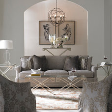 Transitional Living Room by Havertys Furniture