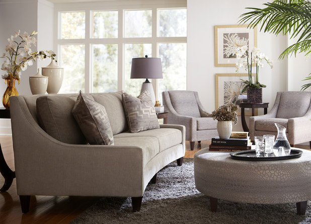 Contemporary Living Room by Havertys Furniture