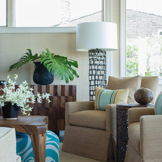 Contemporary Living Room by Henderson Design Group