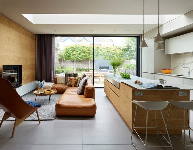 Contemporary Living Room by Roundhouse
