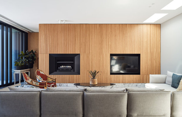 Contemporary Living Room by STAR Architecture