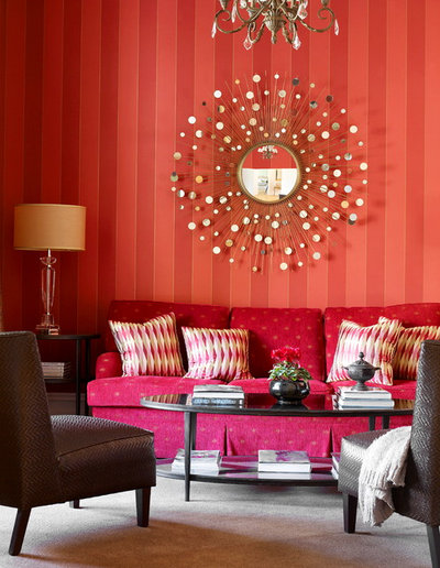 Traditional Living Room by Danielle Trippett Interior Design & Decoration