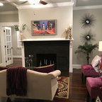 Library 3 Traditional Living Room New York By