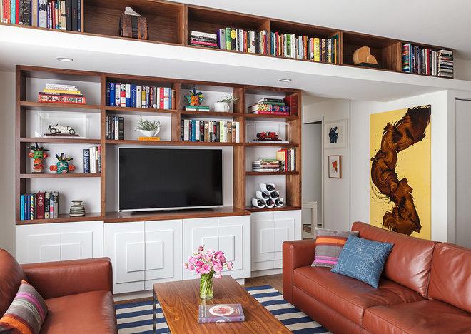 Modern Living Room by Christy Allen Designs