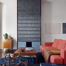 Contemporary Living Room by jones   haydu