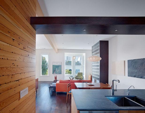 Contemporary Living Room by jones | haydu